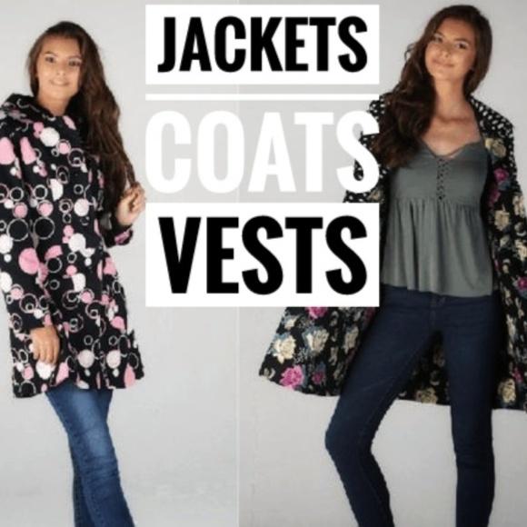 Jackets & Blazers - JACKETS COATS VESTS Womens Juniors